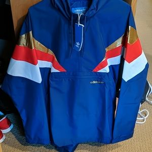 Men's Adidas Fontanka Track Jacket - Large